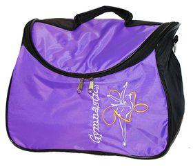 Сумка для художественной гимнастики AZ-07-008 фиолетовая