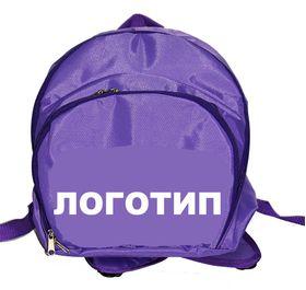 Рюкзак для гимнастики AZ-07-010, фиолетовый лого