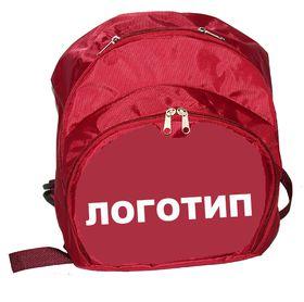 Рюкзак для гимнастики AZ-07-010, бордовый лого