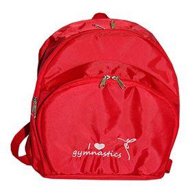 Рюкзак для гимнастики AZ-07-010, красный