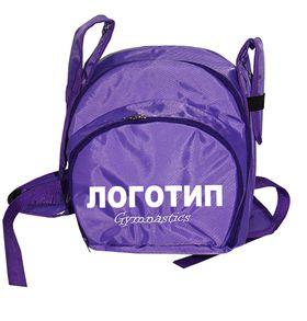 Рюкзак для гимнастики AZ-07-011, фиолетовый лого
