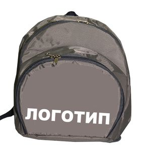 Рюкзак для гимнастики AZ-07-010, серый лого