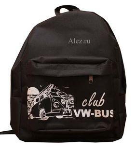 Рюкзак контейнер черный с логотипом на заказ