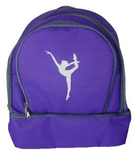 Рюкзак для гимнастики AZ-07-001, фиолетовый 600Д