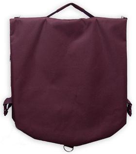 Чехол для одежды AZ-07-004, бордовый